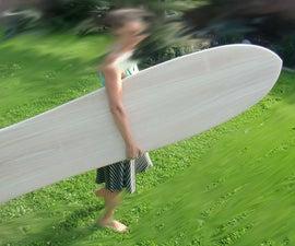 Alaia - traditional wood surfboard