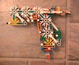 """Knex Pistol """"TDS"""" With Simple Slide Action *Updated as of 8/26/08*"""