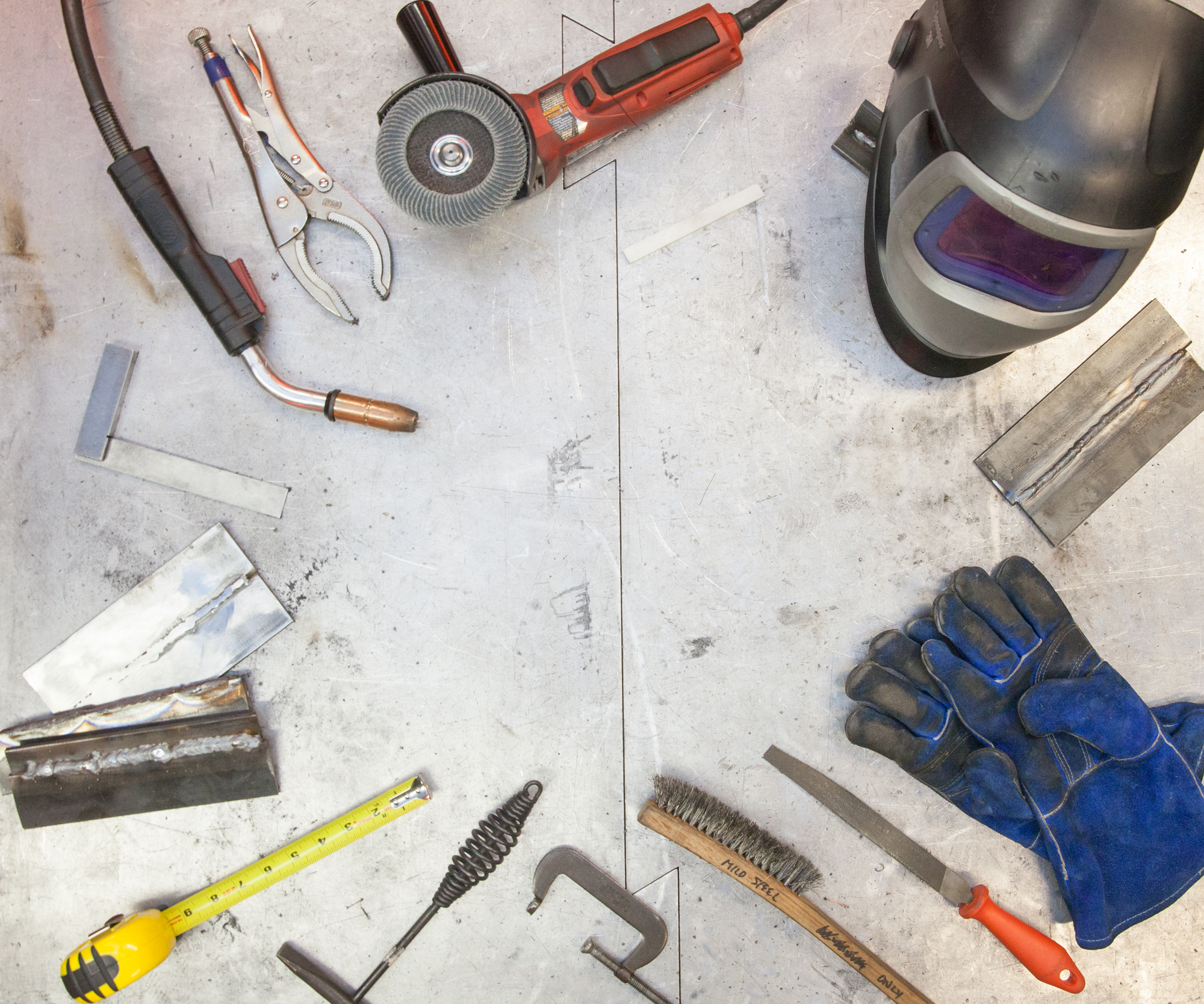 Picture of Welding Tools and Materials