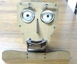 FRITZ - ANIMATRONIC ROBOTIC HEAD