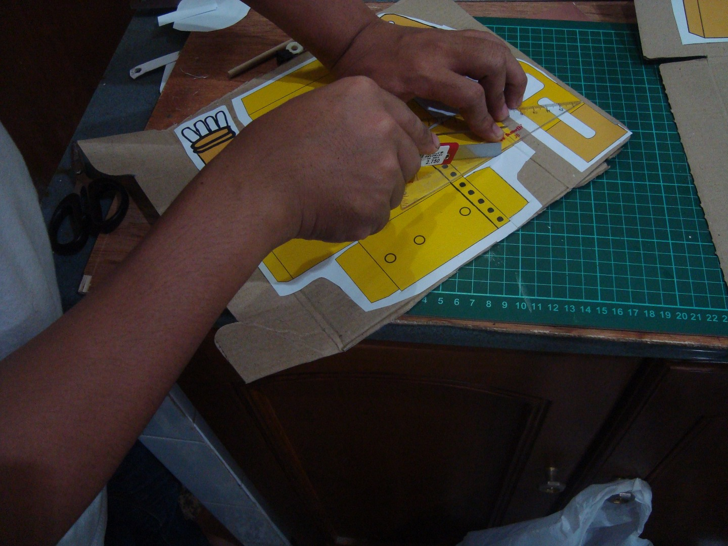 Picture of Making a Material Part