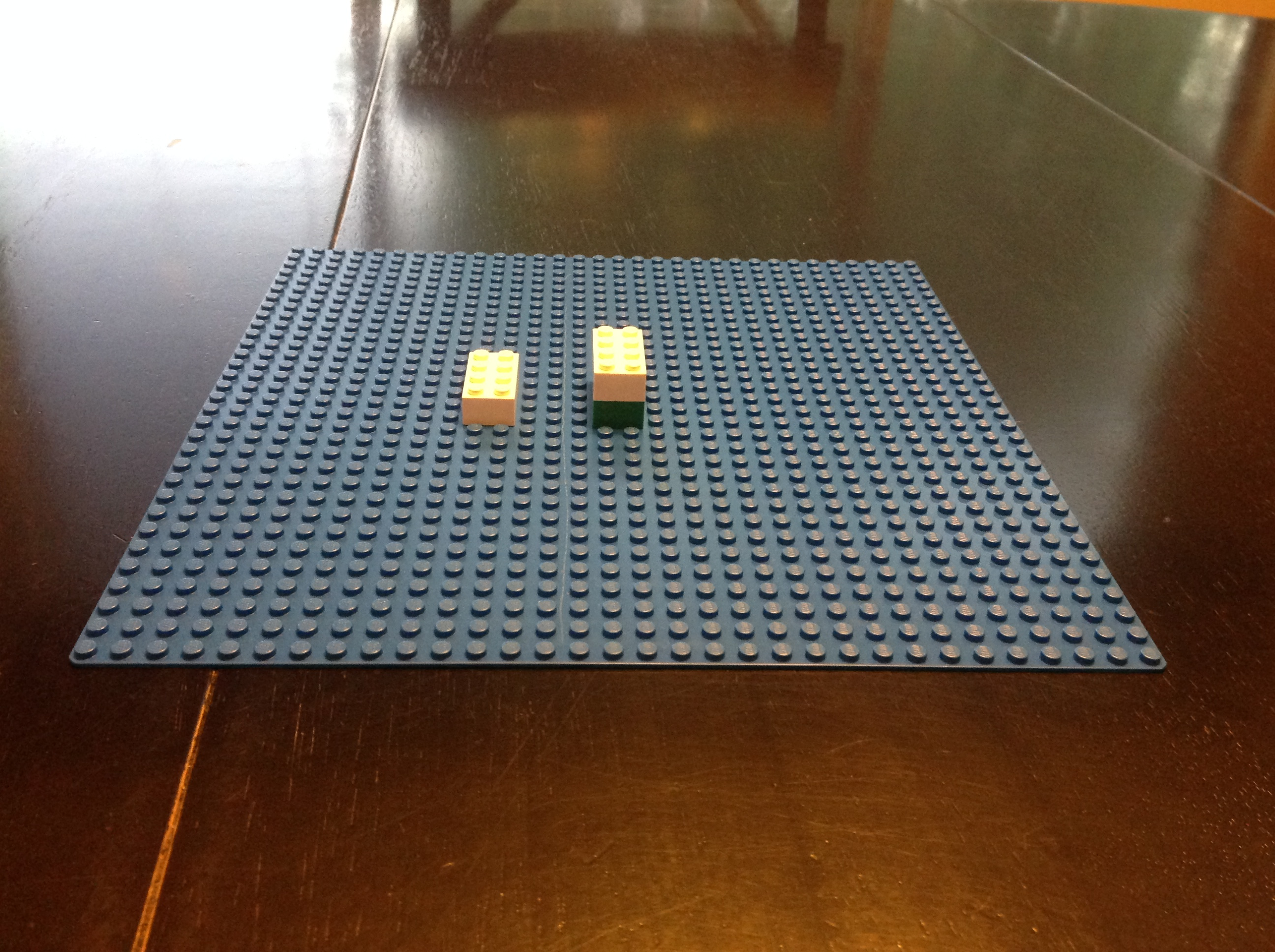 Picture of  Lego Bricks Can Be Any Color for Any Part of the Catapult. Your Choice.