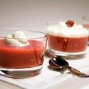 Molecular Gastronomy - Strawberry Verrines