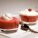 Molecular Gastronomy - Strawberry Verrines