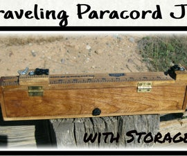 Traveling Paracord Jig With Storage