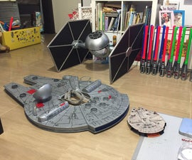 Make Your Own Millennium Falcon for Your Child