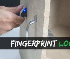 Fingerprint Locker With Arduino