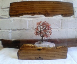 Live Edge From a Pallet - Photo Frame