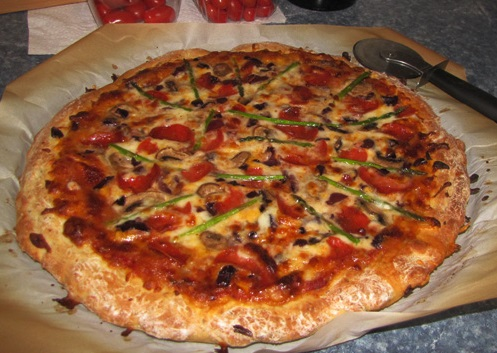 Picture of My Favorite Pizza and It's Made From Scratch!