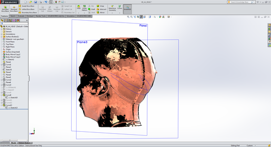 Projection on the Head