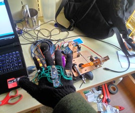 NFU Dream Maker Project:Somatosensory Quadrocopter Module