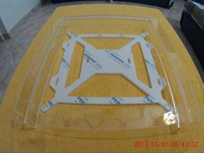 Acrylic Frame - CNC Mill or Laser Cut