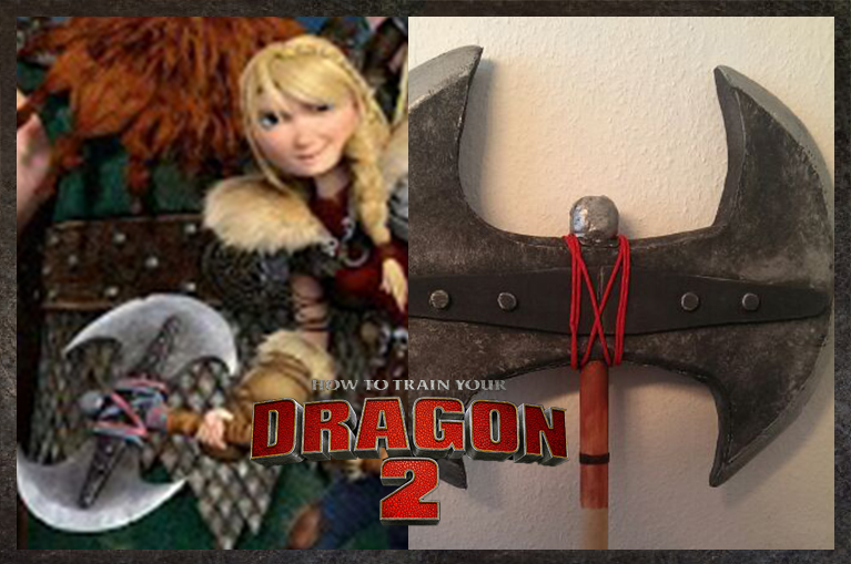 Picture of Cosplay Axe - Astrid Httyd 2