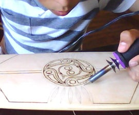 How To Hand Burn a Short Cruiser (A Woodshop Project)