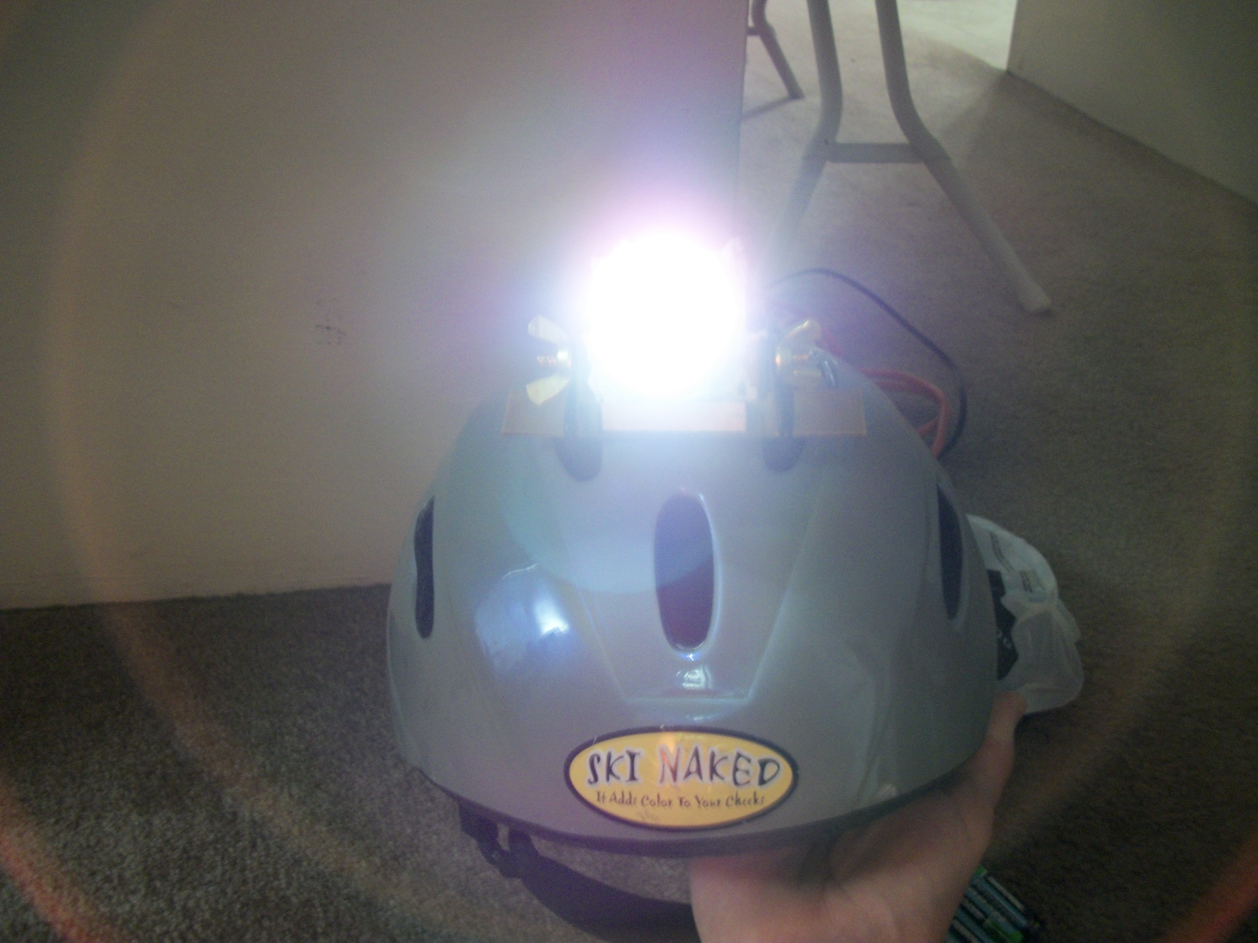Picture of Lightweight Headlamp From Cheap, Readily Available Parts
