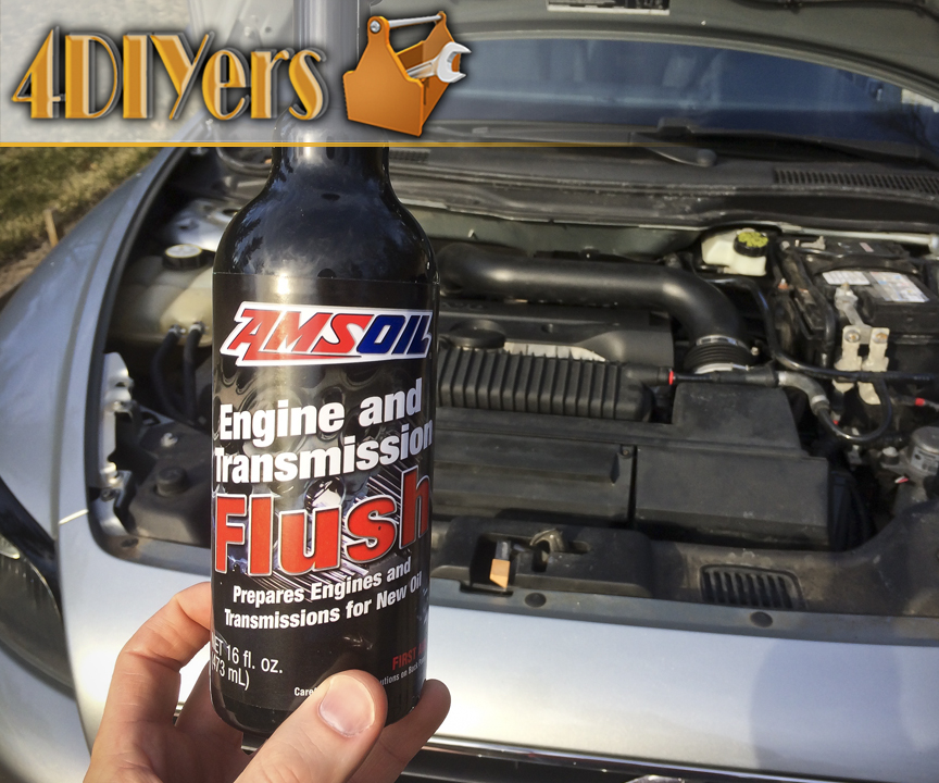 Picture of How to Perform an Engine Oil Flush Using Amsoil