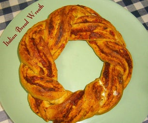 Italian Bread Wreath