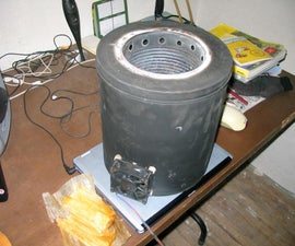 Easy large portable woodgas stove
