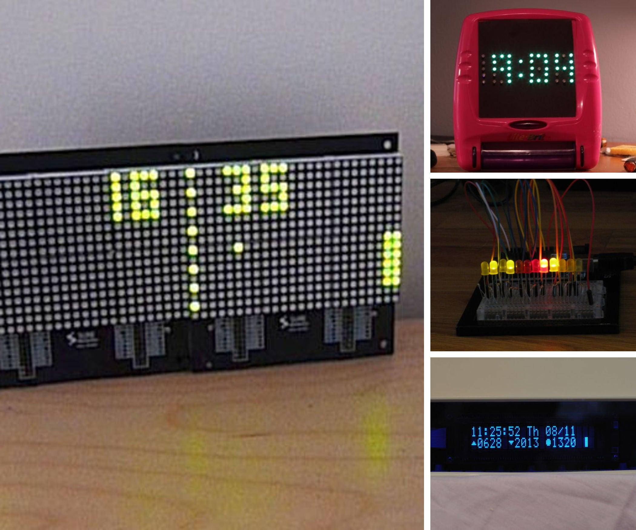 Arduino Clocks
