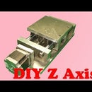 Homemade CNC Projects Part 1 - DIY Z Axis Slide Plans