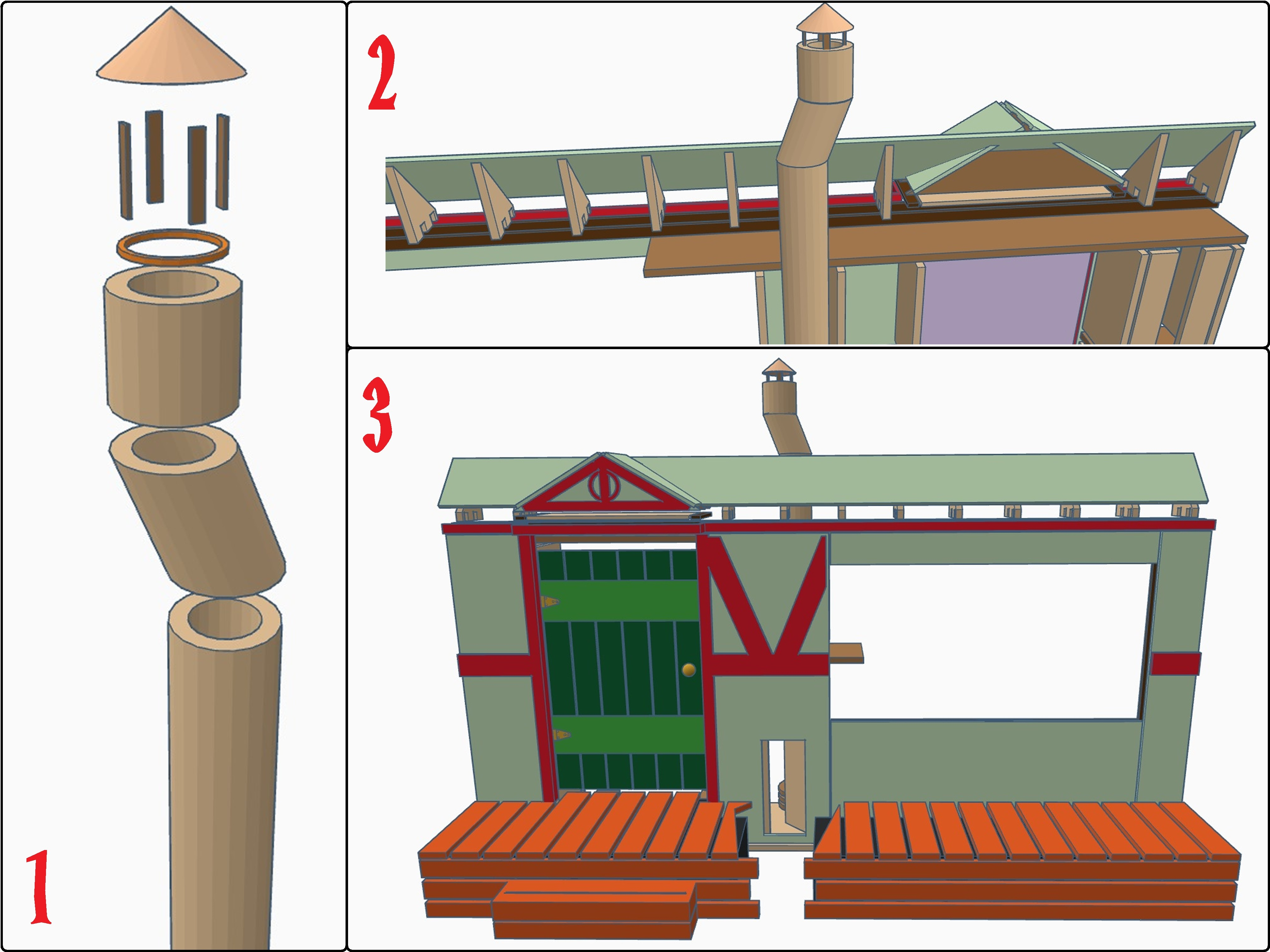 Picture of Chimney and Roof