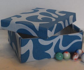 Organizing Craft Supplies: Fabric Boxes