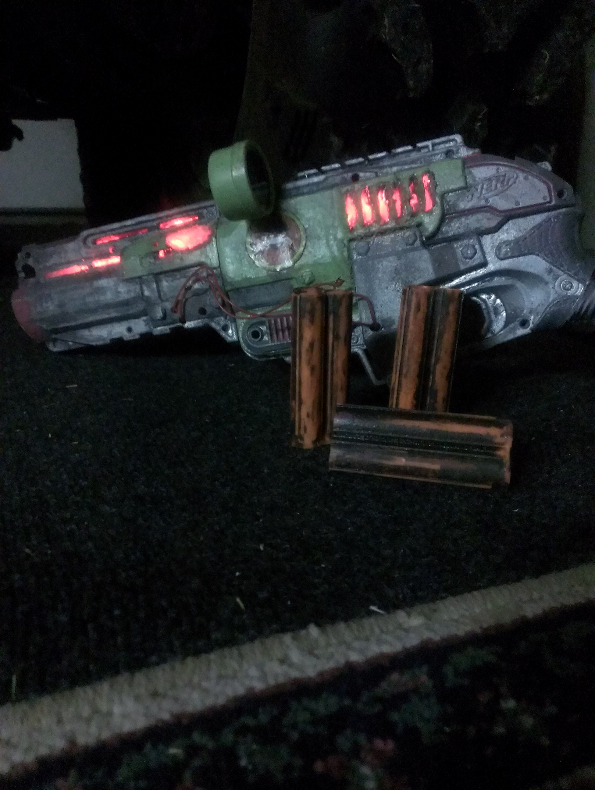 Picture of Light Up Nerf Gun!