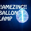 BALLON LAMP!!!AMAZING!!! (simple Awsome Ballon Lamp)!!