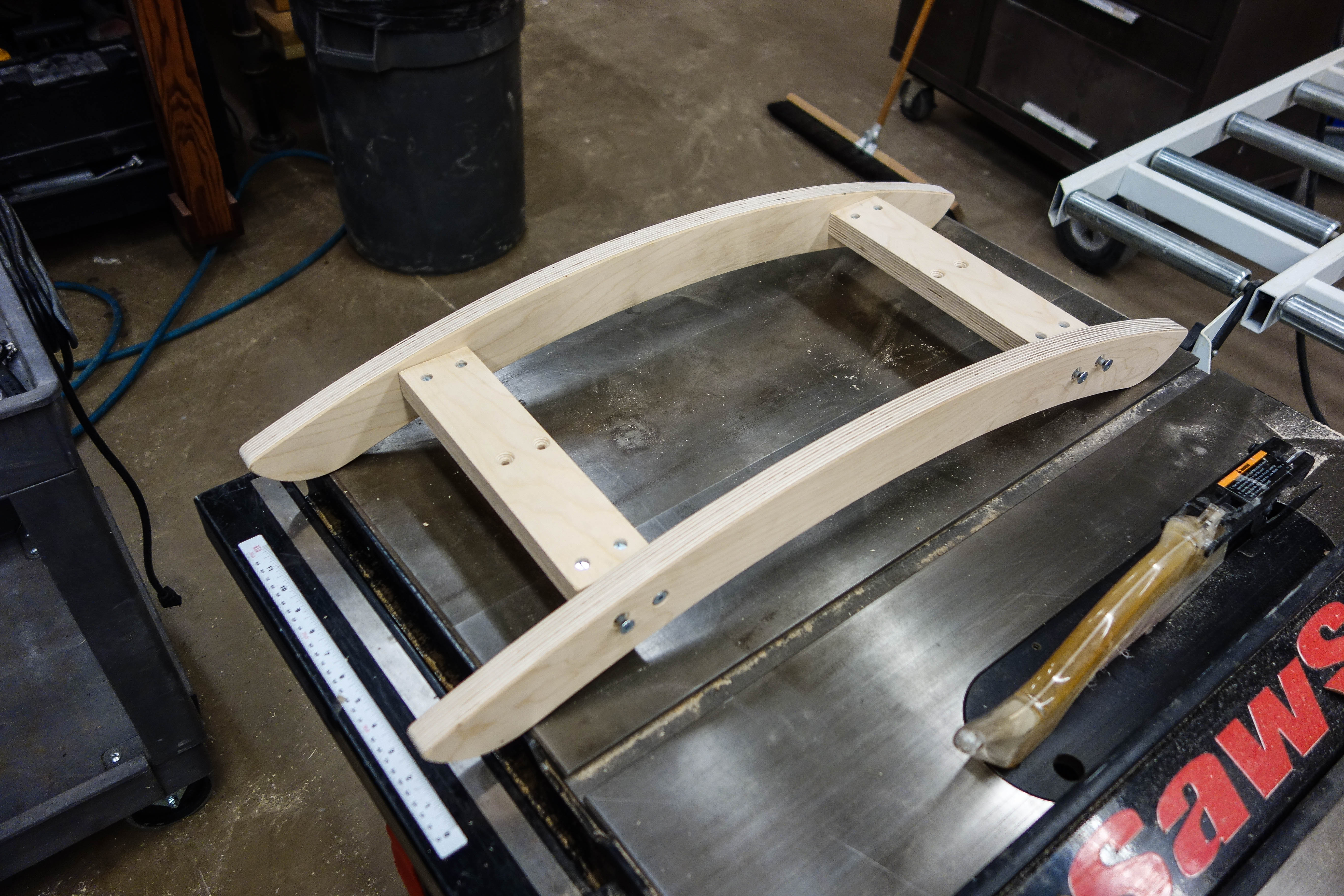 Picture of Test-fitting the Base