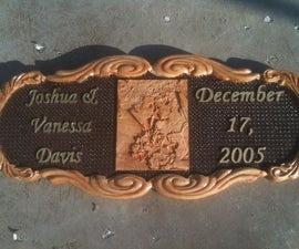 CNC Wedding Plaque for my Daughter