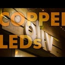 Store Front Lighting With Copper Pipe Lamp