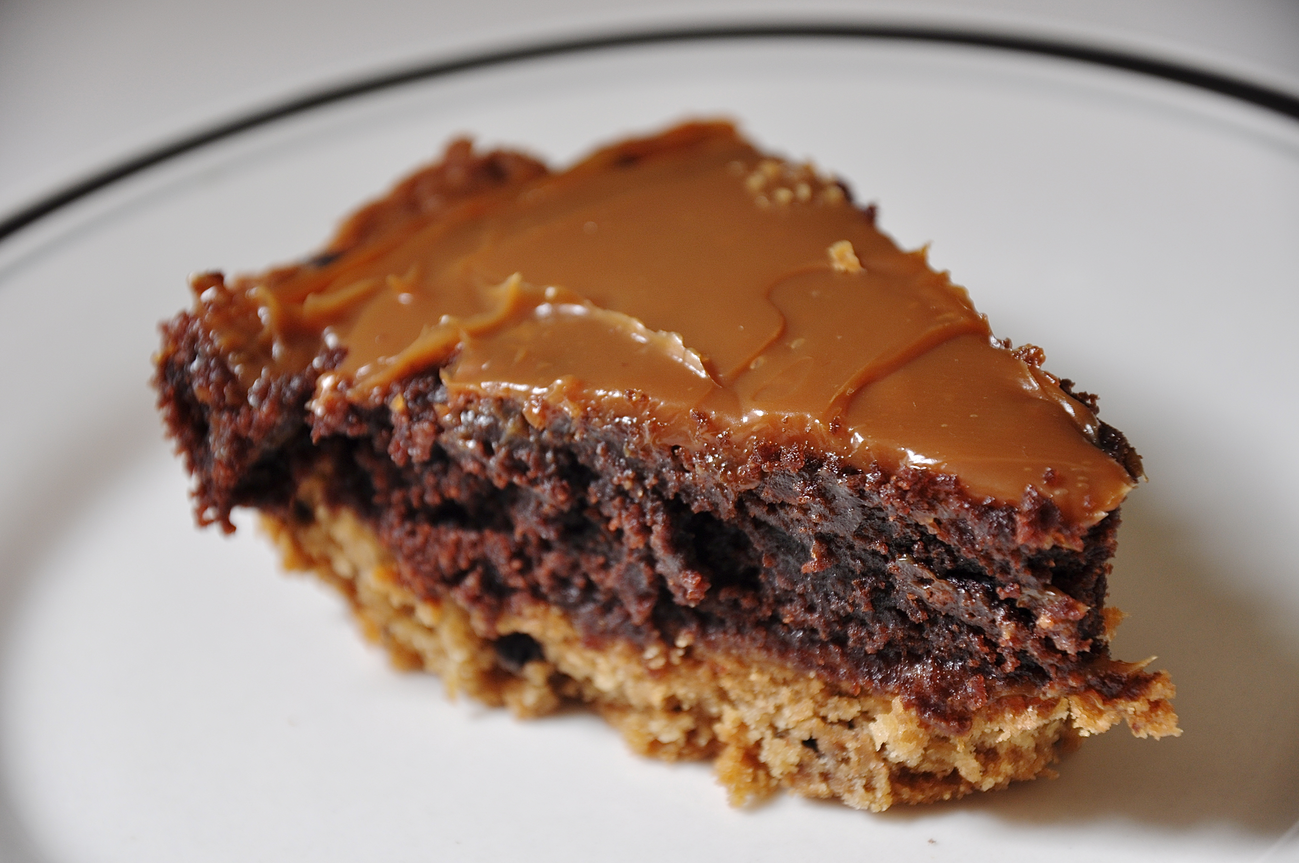 Picture of Cookie Brownie Pie