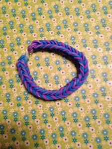 Fishtail- Purple and Blue