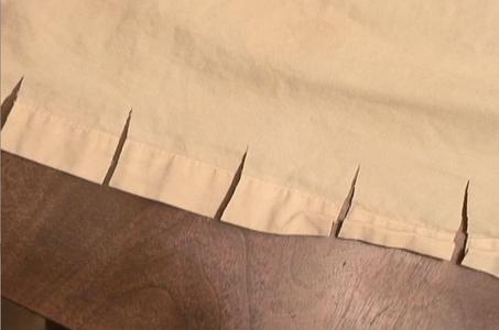 Making Mummy Strips