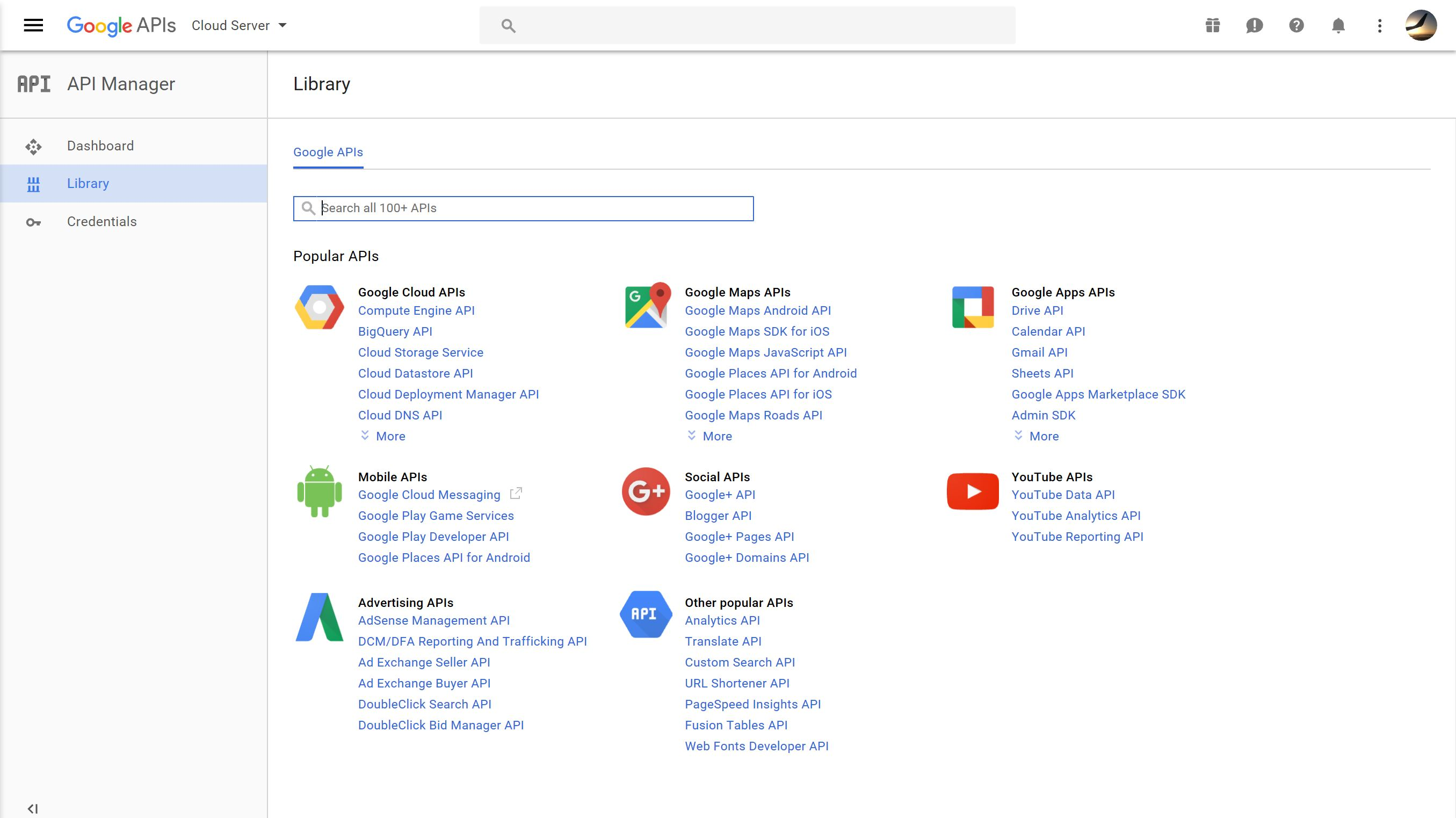 Picture of Configure the Googe Drive API