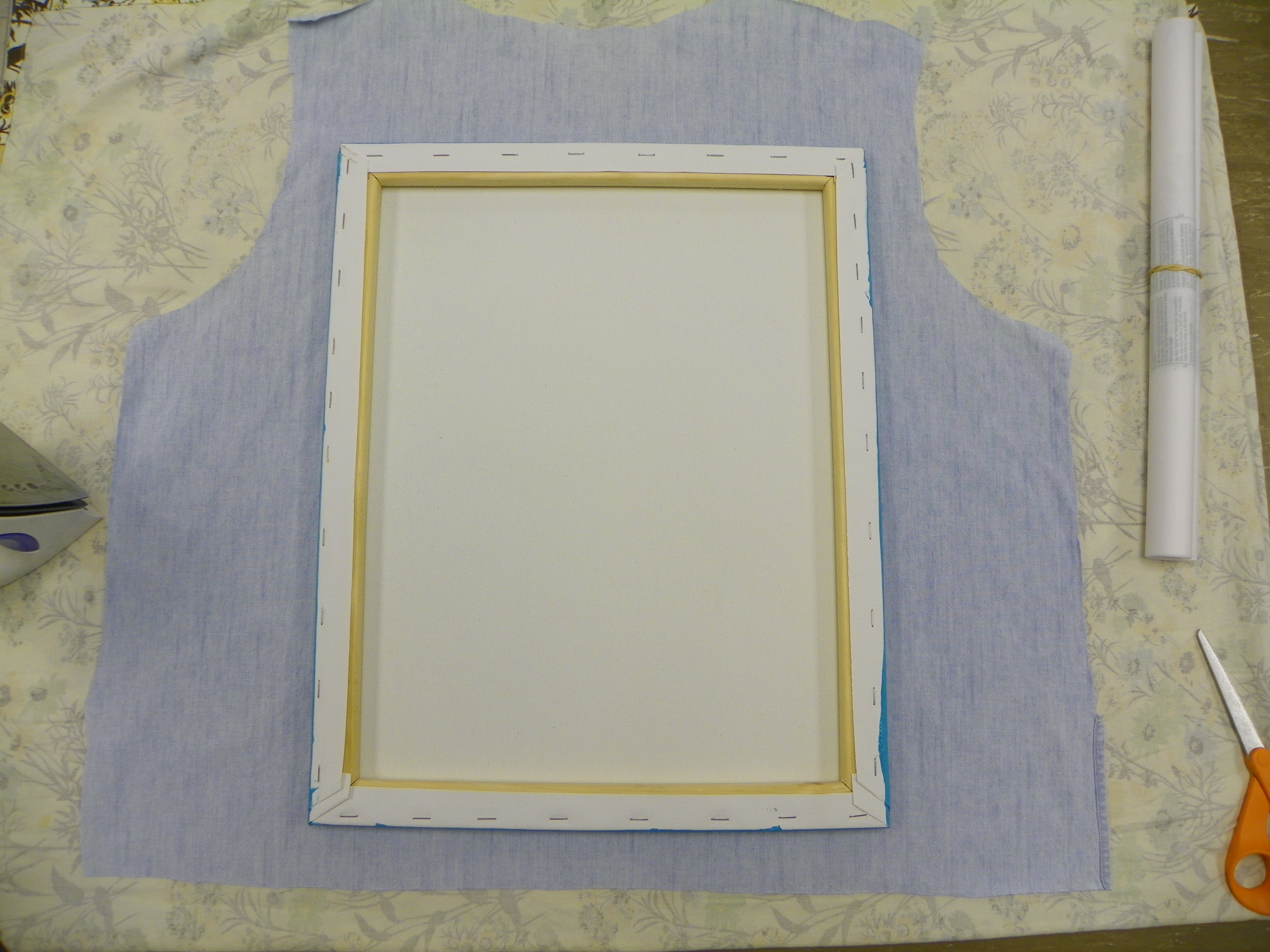Picture of Cutting Up the Fabric