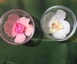 realistic looking Sugarpaste fondant Flower (Orchid) Sculpting
