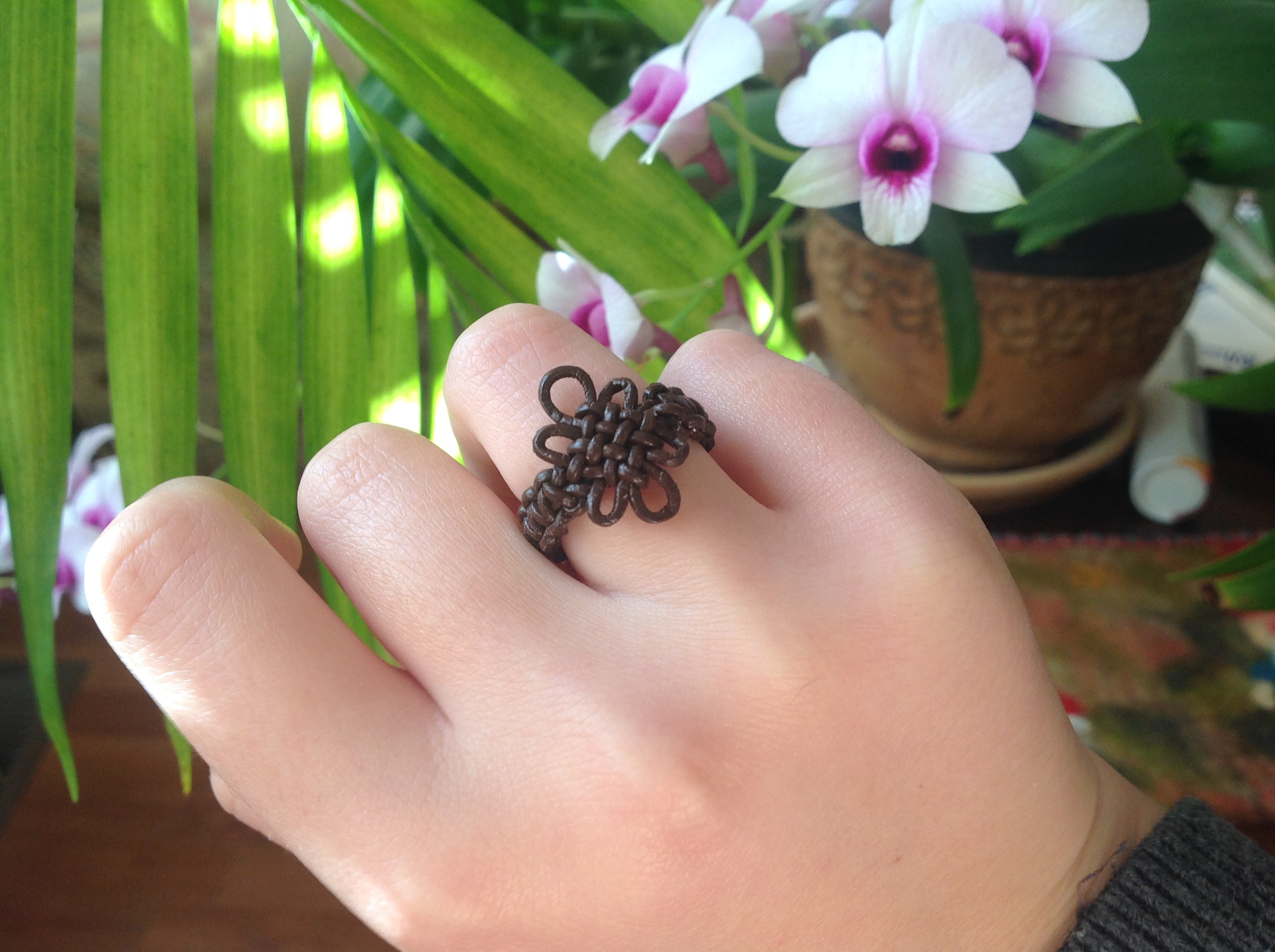 Picture of Pan Chang Knotted Ring