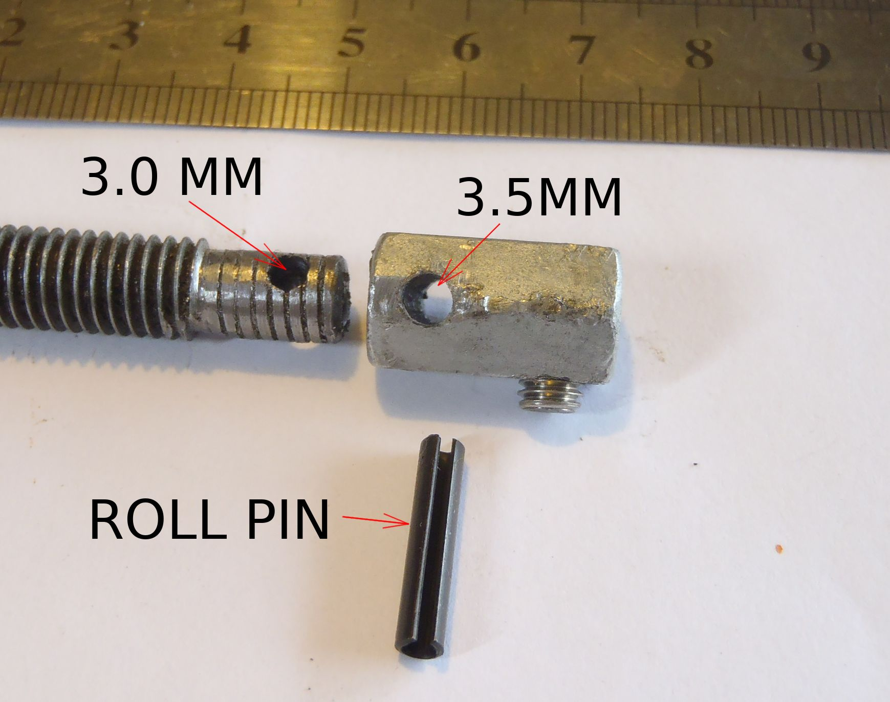 Picture of Making the Drive Coupling