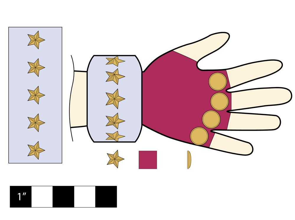 Picture of Gauntlet: Glove and Cuff