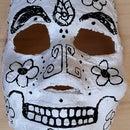 Easy Day of the Dead (Dia de los Muertos) Masks