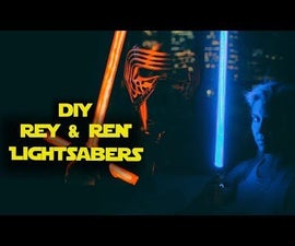 Neopixel Lightsabers W/ Party Modes - Arduino Controlled