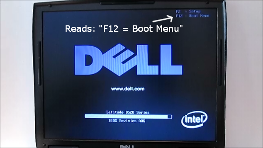 Picture of Using the USB Drive As a Live USB 1: What's the Boot Menu?