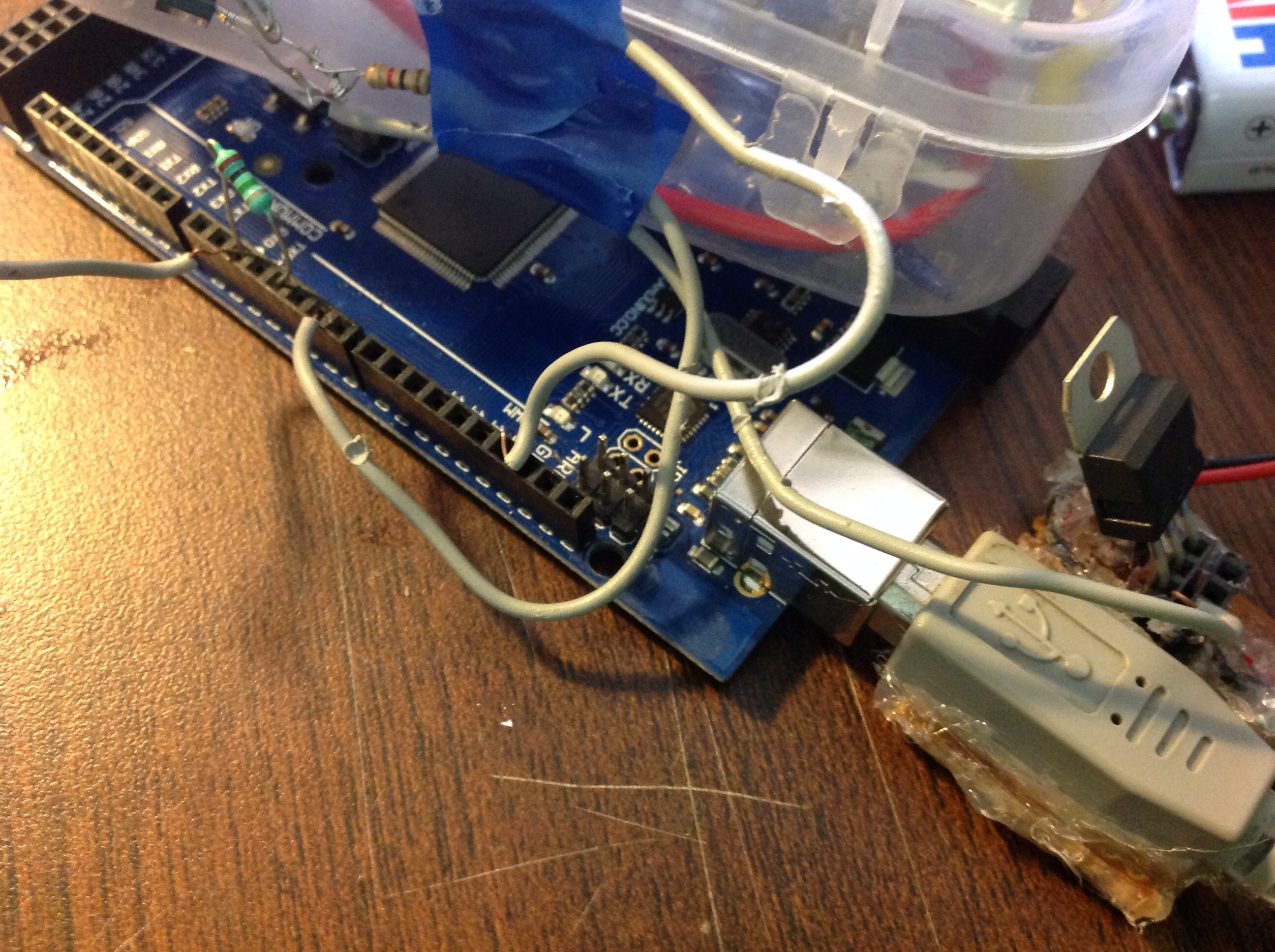 Picture of Touch Controlled Light:- Add the Touch Sensor and Arduino...