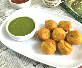 Batata Ambados/Spicy South Indian Aloo Bondas