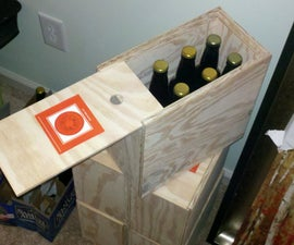 A simple 8 - beer crate (for gift boxes)