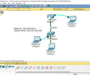 Configure Password for Devices in Cisco Packet Tracer