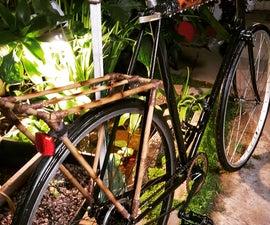 Bamboo Bike Rear Rack
