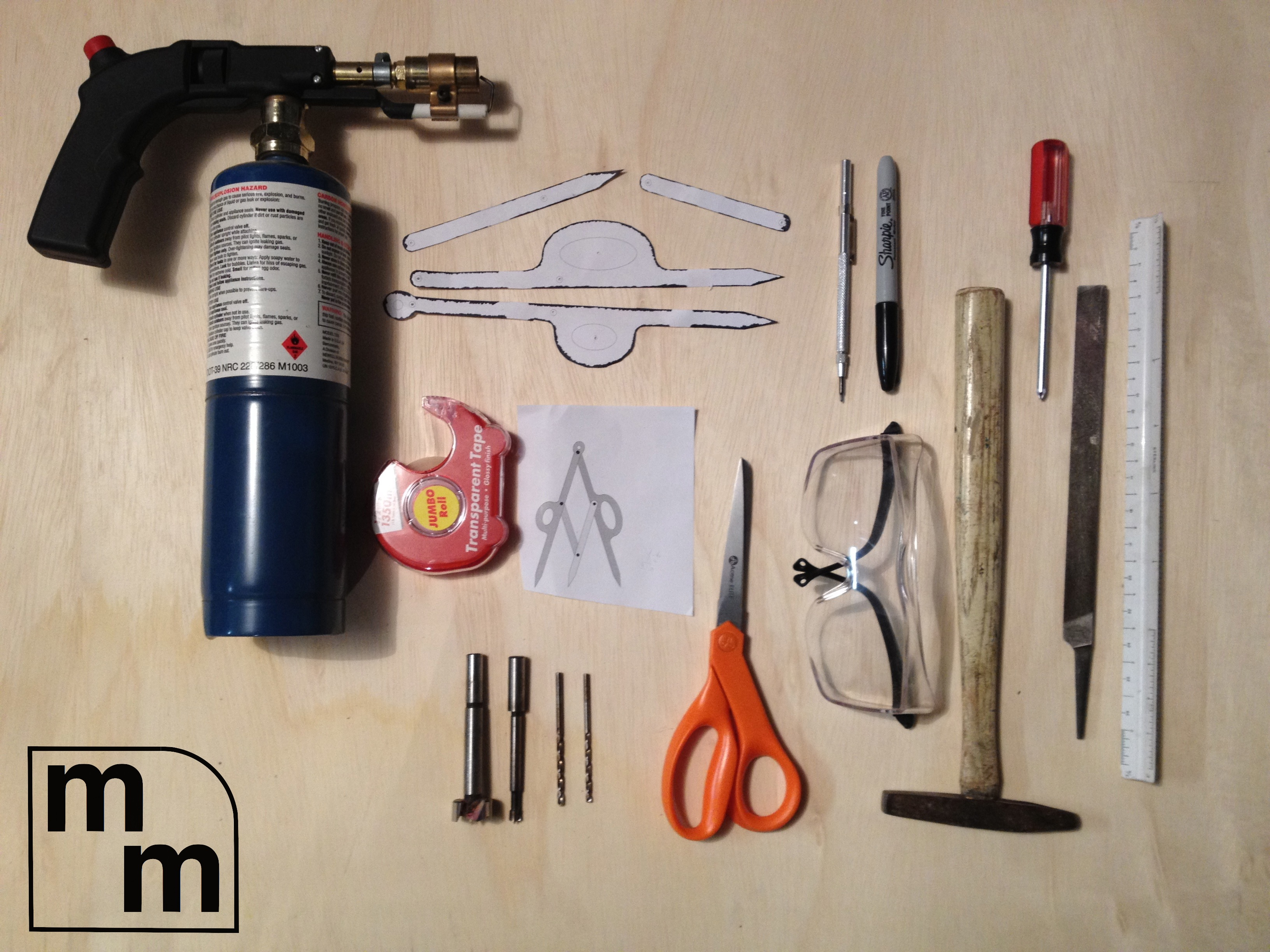 Picture of Gather Materials and Tools