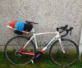 PVC Bicycle Luggage Rack